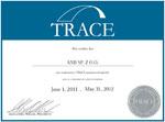 Prestiżowy certyfikat Trace
