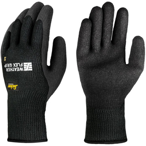 9392 Rękawice Weather Flex Grip 100 par Snickers Workwear