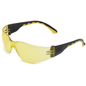 CAT APPAREL Okulary ochronne CAT TRACK Rimless yellow