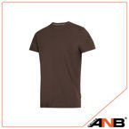 T-shirt (kolor: czekoladowy) - Snickers Workwear