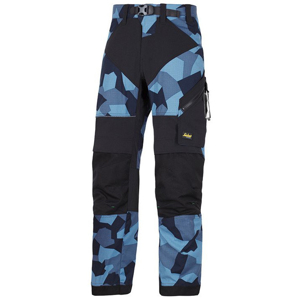 6903 Spodnie FlexiWork+ (kolor navy camo - black) Snickers Workwear