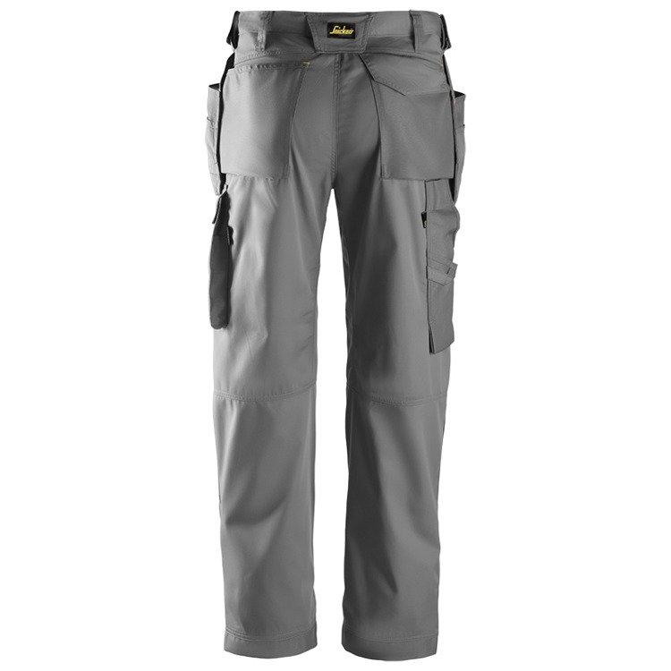3211 Spodnie CoolTwill z workami kieszeniowymi (kolor: szary) Snickers Workwear