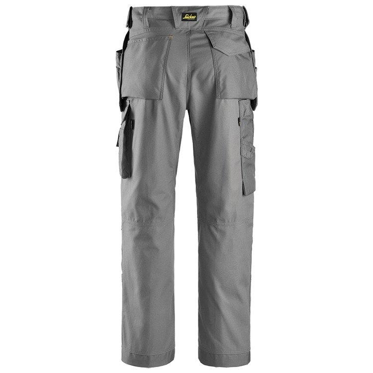 3214 Spodnie Canvas+ z workami kieszeniowymi (kolor: szary) Snickers Workwear