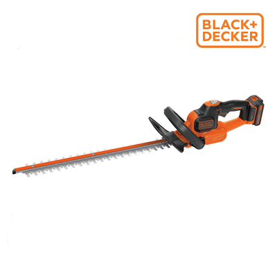 Nożyce do żywopłotu 18V 2.0Ah z serii Power Command, 45 cm Black+Decker GTC18452PC